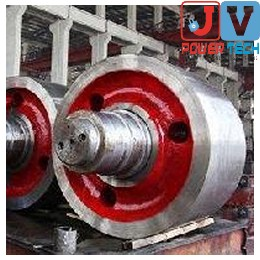 ROTARY KILN & COOLER SUPPORT ROLLER SPARES FOR SPONGE IRON PLANT | CEMENT PLANT | POWER PLANT | SUGAR MILL | CHEMICAL PLANT - EXPORTERS INDIA